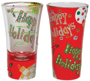 Lolita Happy Holidays Shot Glass GLS15-5512C