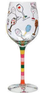 Giant Multi Wine Glass 16