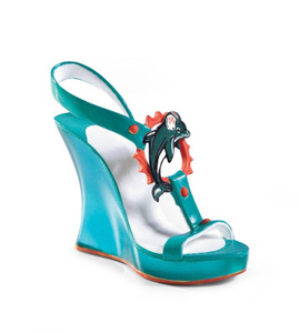 Miami Dolphins Decorative Shoe Collectable J113816