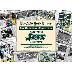 NY Jets History New York Times Newspaper Compilation