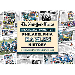 Philadelphia Eagles History New York Times Newspaper Compilation
