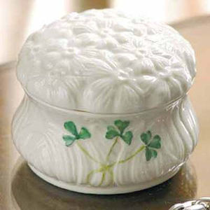Belleek Daisy Trinket Box 1936