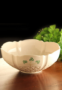 Belleek Shamrock Trellis 9