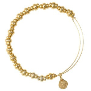 Nile Bangle Shiny Gold