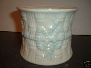 Belleek Irish Biscuit Barrel