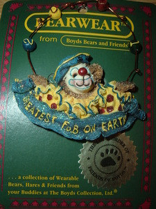 Boyds Bears Pin Gizmoe Lifes A Jungle 2001-11