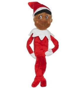 Elf On The Shelf Boy Plushee Pal Dark Skin
