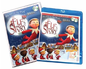 Elf On The Shelf An Elfs Story Blue Ray DVD Combo