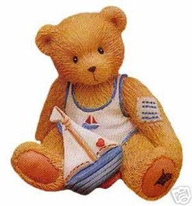 Cherished Teddies Arthur August  Month 914827
