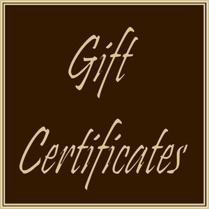Gift Certificate 5.00