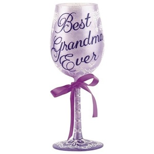 Best Grandma Ever Wine Glass GLS11-5533L
