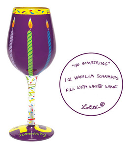Forty Something Wine Glass GLS11-5585K
