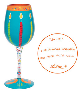 30 Thirty-ish Wine Glass GLS11 5585L