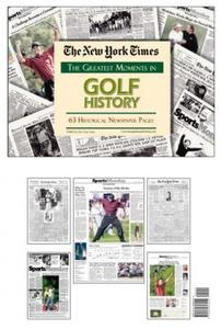 Golf History New York Times Historic Newspaper Compilation