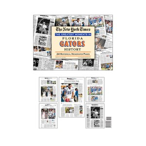Florida Gators History New York Times Historic Newspaper Compilation