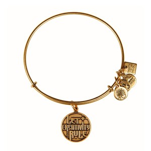 Let Creativity Rule Charm Bangle Rafaelian Gold