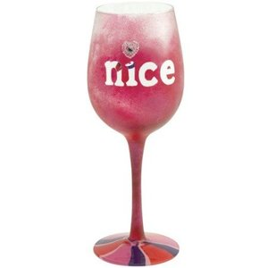 Valentine Naughty and Nice Wine Glass GLS11-5523F