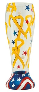 Yellow Ribbon Pilsner Glass PIL-5518D