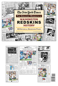 Washington Redskins History New York Times Newspaper Compilation