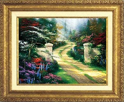 Thomas Kinkade Spring Gate 18 x 24 Canvas Classic