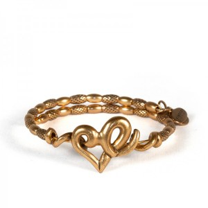 Heart Wrap Rafaelian Gold