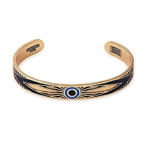 Meditating Eye Men's Cuff David Lynch Foundation Gold