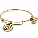 Cherub Charm Bangle Rafaelian Gold