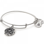 Take the Wheel Charm Bangle Rafaelian Silver