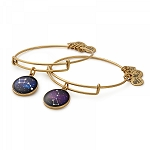 Big and Little Dipper Set of Two Charm Bangles Rafaelian Gold