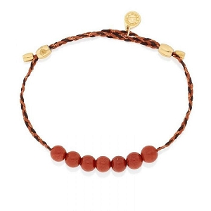 Red Jasper Precious Threads Bracelet