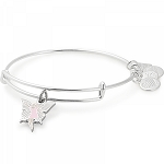 Fairy Charm Bangle Shiny Silver