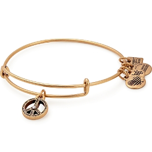 UNICEF World Peace Bangle Rafaelian Gold