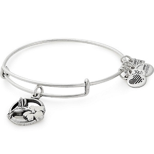 Hummingbird Charm Bangle The Malala Fund Rafaelian Silver