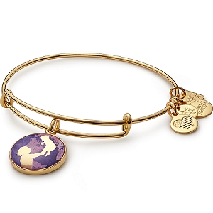 Bright Future Charm Bangle Shiny Gold