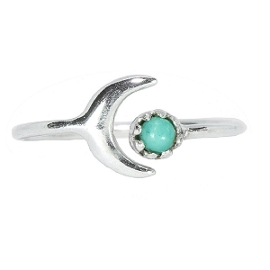 Celestial Ring Silver Size 9