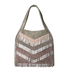 Steven by Steve Madden Elsa Hobo Bag Charcoal