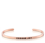 Choose Joy Rose Gold