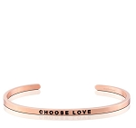 Choose Love Rose Gold