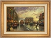 Thomas Kinkade City By The Bay 24 x 36 Canvas