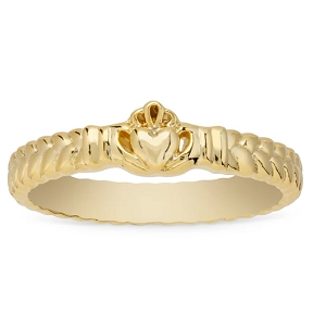 Claddagh Ring Gold Size 7