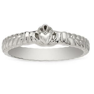 Claddagh Ring Silver Size 6