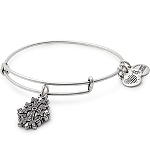 Armenian Cross Charm Bangle Rafaelian Silver