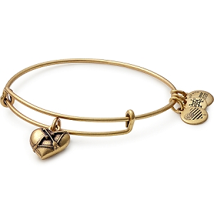 Cupids Heart Bangle Rafaelian Gold