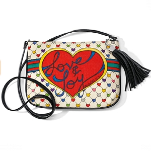 Holiday Love & Joy Pouch Canvas D30213