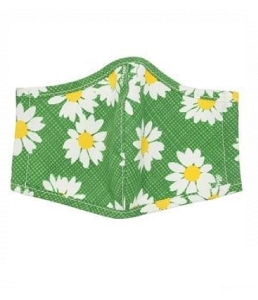 Dottie Daisy Green Mask D32010