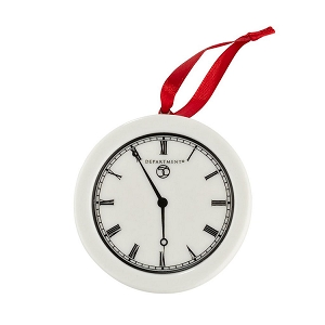 Hang Tag Clock Ornament 4030892