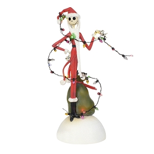Nightmare Before Christmas Jack Tangled In Lights 6000411
