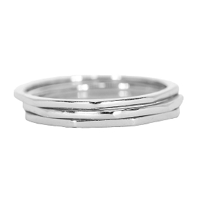 Delicate Stacked Ring Size 6
