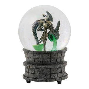 Nightmare Before Christmas Jack In The Fountain Globe 6000407