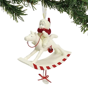 Peppermint Pony Ornament Dated 2018 6001888